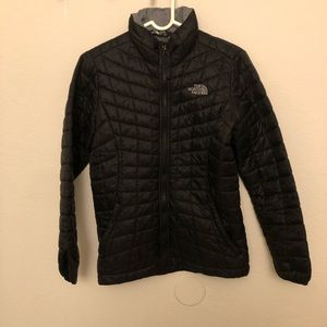 The North Face thermos puffer jacket Girl M xxs